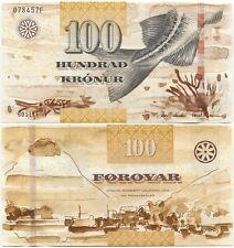 Faeroe Islands 100 Kronur 2011 (2012) UNC P-30