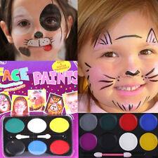 6 Colors Face Body Kids Paint Oil Painting Clown Party Fancy Art Makeup Set