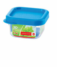 Emsa Snap & Close 3D Perf Clean Frischhaltedose Frischhaltebox  - quad 0,22L