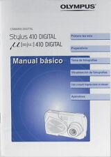 Olympus Stylus 410 Digital Manual básico/Spanische Bedienungsanleitung - (0976)