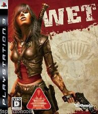 Used PS3 WET  SONY PLAYSTATION 3 JAPAN JAPANESE IMPORT
