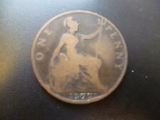 1902 PENNY KING EDWARD THE 7TH BRONZE, GOOD CONDITION. 1902 PENNY COIN.