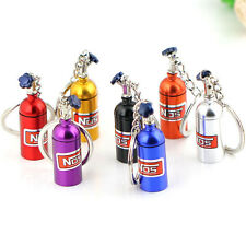Fashion Creative Novelty  Metal Car Keyring Keychain Key Chain Ring Keyfob Gift