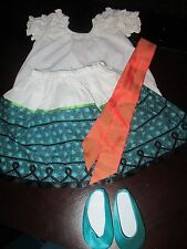 American Girl Josefina FEAST DAY/ BIRTHDAY OUTFIT/DRESS Pleasant Company