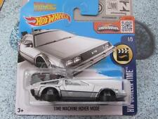 Hot Wheels 2016 #221/250 TIME MACHINE HOVER MODE silver HW Screen Time Case C
