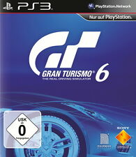 Sony PlayStation 3 ps3 juego Gran Turismo 6