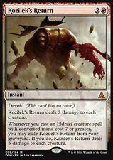 MTG KOZILEK'S RETURN EXC - RITORNO DI KOZILEK - OGW - MAGIC