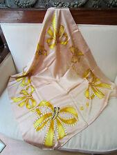 foulard nina ricci carré de soie epoque 1960 vintage  dans sa boite