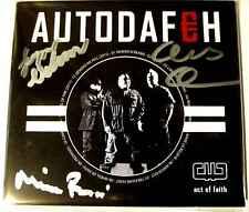 AUTODAFEH Act of Faith - CD Digipak - Signiert / Autogramme