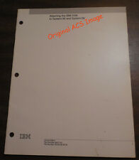 ATTACHING IBM 3196 TO SYSTEM/36 AND SYSTEM/38
