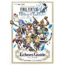 Final Fantasy Crystal Chronicles Echoes of Time Echoes Guide Book /DS, Wii