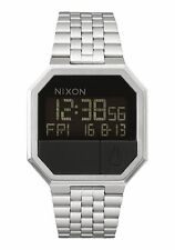 Nixon Men's Watch Re-Run Black Stainless-Steel Quartz Watch - A1581000