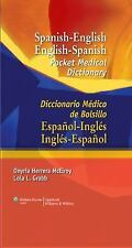 Spanish-English English-Spanish Pocket Medical Dictionary: Diccionario Médico de