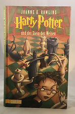 German Translation Harry Potter and the Philosopher's Stone HC JK Rowling