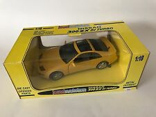 Nissan 300 ZX Bi Turbo 1/18 Yellow Jouef Evolution By KYOSHO Extremely Rare !