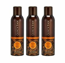 Body Drench Quick Tan Instant Self Tanning Medium Dark Spray 6 oz - Pack of 3