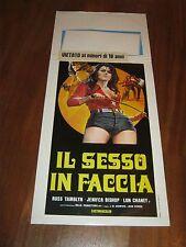 Locandina,IL SESSO IN FACCIA ,The Female Bunch,Al Adamson, Lon Chaney jr,Bishop,