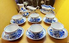 16 Pc. Hutschenreuther Selb Bavaria Germany Blue Onion   NICE TAKE A LOOK !