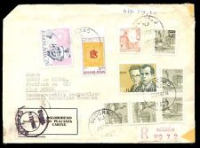 Yugoslavia 1982 Registered Cover To Germany #C7129