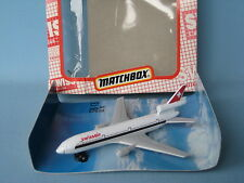 Matchbox Skybuster SB-13 DC-10 Swissair Boxed 110mm Macau Toy Model