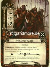 Lord of the Rings LCG  - 1x Haradrim-Elite  #053 - Die Erben von Numenor