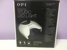 OPI GelColor STUDIO LED LIGHT Lamp Gel Nail Polish Dryer 110V- 240V GL900 New