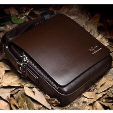 Men's Casual Bags Handbag Leather Brown Briefcase Shoulder Messenger Bag