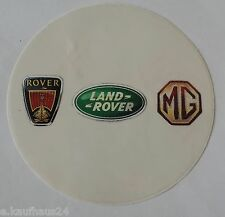 Aufkleber ROVER Land Rover MG Sticker Autocollant Decal British Leyland
