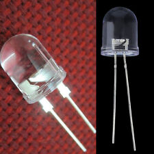 20pcs 10mm 0.5W White 290,000MCD 40¡ã Large Chip Ultra Bright LED Lamps LS