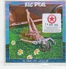 (EQ933) Big Deal, In Your Car - 2014 DJ CD