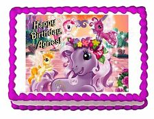 MY LITTLE PONY edible party cake topper cake image frosting sheet