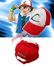 Anime Pokemon ASH KETCHUM trainer costume cosplay hat cap