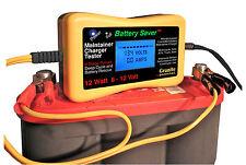 12 Watt Dual Voltage 6 & 12V Battery Maintainer & Tester