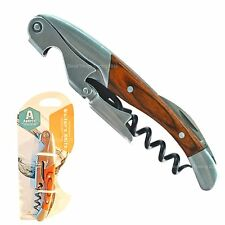 Corkscrew Wine Bottle Opener Grunwerg Double Reach Waiters Friend Professional
