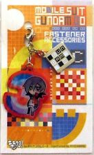 Gundam 00 Allelujah Fastener Accessory March Metal Charm Anime Manga Game MINT