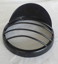 ROYAL ENFIELD BULLET BLACK HEADLIGHT RIM OUTER WITH LAM SHADE GRILL FOR 7'' NEW