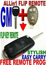 ALLin1 FLIP KEY REMOTE FOR BUICK RENDEZVOUS CHIP KEYLESS ENTRY TRANSMITTER FOB