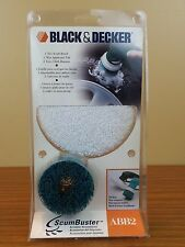 Black & Decker ABB2 Scumbuster Tire and Auto Cleaning Pads Kit Replacement