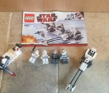 Lego 8084 Star Wars Snowtrooper Battle Pack •100% Complete, Minifigures, Instrs
