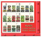 GB 2001 Double Decker Buses unmounted mint mini / miniature sheet MNH stamps
