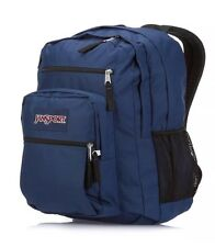 JanSport Backpack NEW  School Bag  - Big Student Backpack Navy Blue