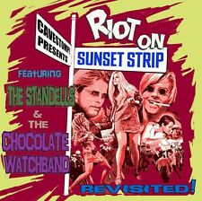 Riot On The Sunset Strip Revisited - Standells & Choc (2014, CD NIEUW)2 DISC SET