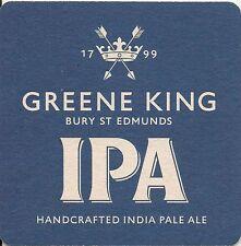 2 X '2015 Current' GREENE KING IPA BEER MATS. Breweriana Beer Ale Suffolk Pub