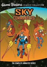 SKY COMMANDERS: THE COMPLETE ANIMATED SERIES Region Free DVD - Sealed