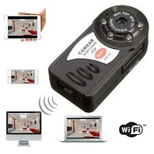 WIFI Mini DV IP Wireless Spy Cam Night Vision Camera Security For Android IOS SD