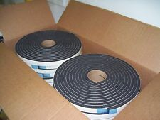 "38  Rv Home Gaska Tape Foam Seal Insulating Tape 1/2"" Thick x 5/8 W x 25 ft long"
