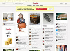 start your own pinterest clone website photo sharing social image site 2015 Best