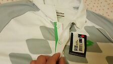 Lotto T-Shirt Conner Net Tennis - White / Fluo Green, US Size S