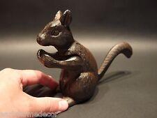 Antique Vintage Style Cast Iron Squirrel Nut Cracker Press