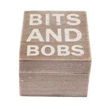 Wooden Storage Boxes, Bits and Bobs, gift box, christmas stocking filler, solid